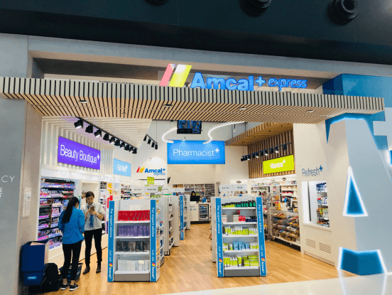 EAORON available in Australia and New Zealand airports